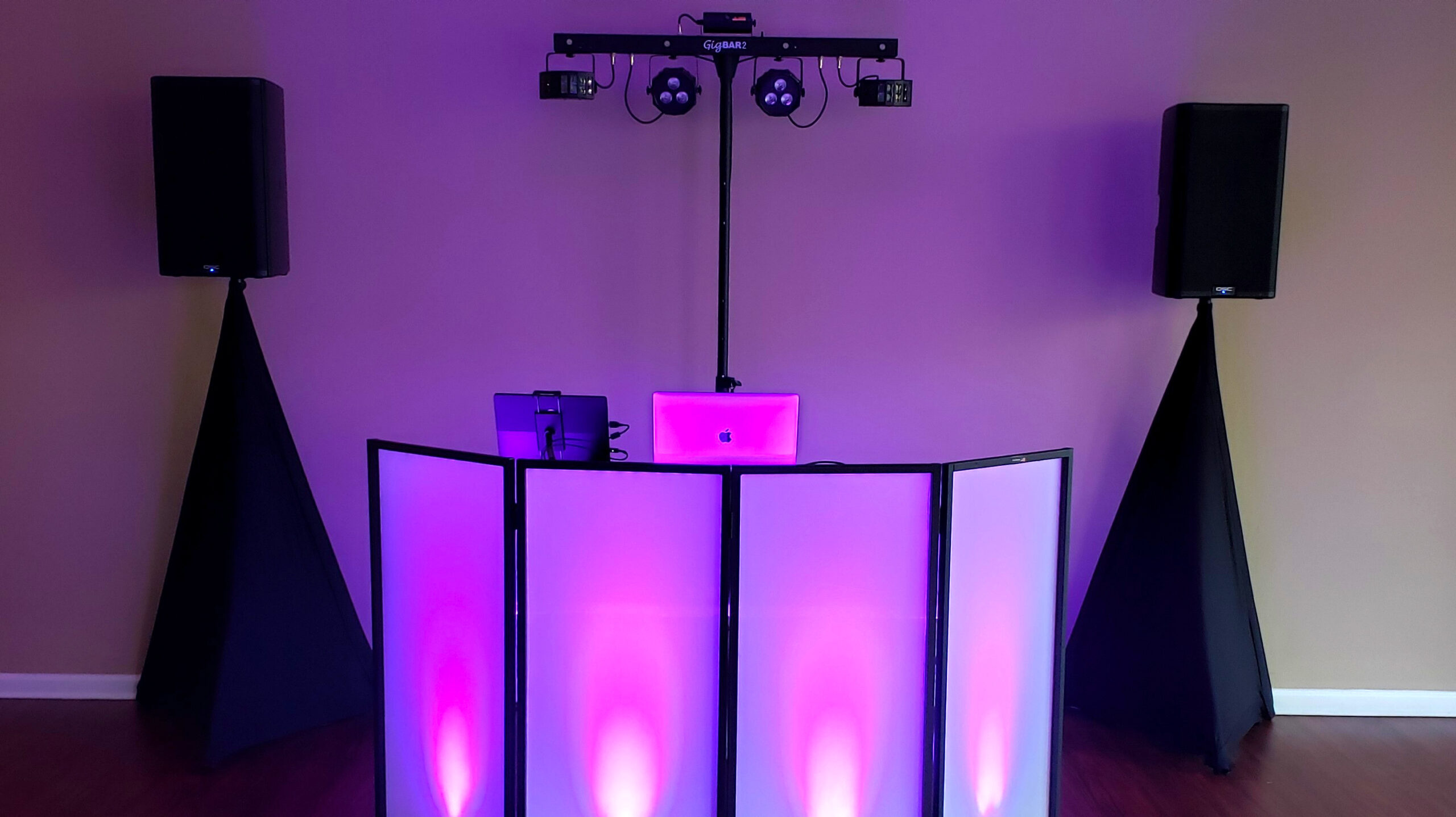 Simple wedding setup